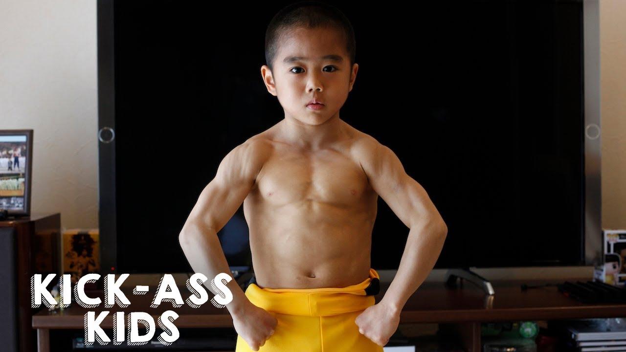 meet the mini bruce lee | kick-ass kids - youtube