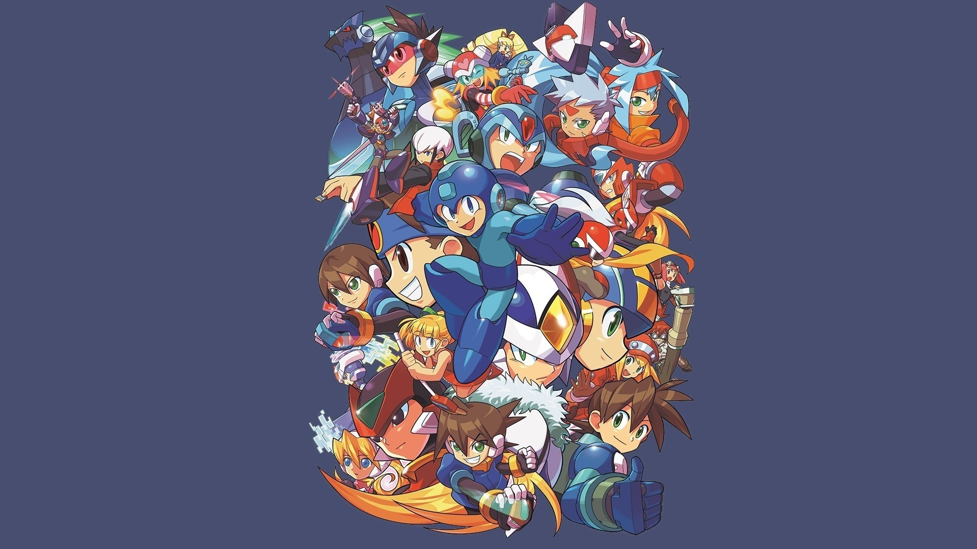 mega man papier peint | allwallpaper.in #10908 | pc | fr