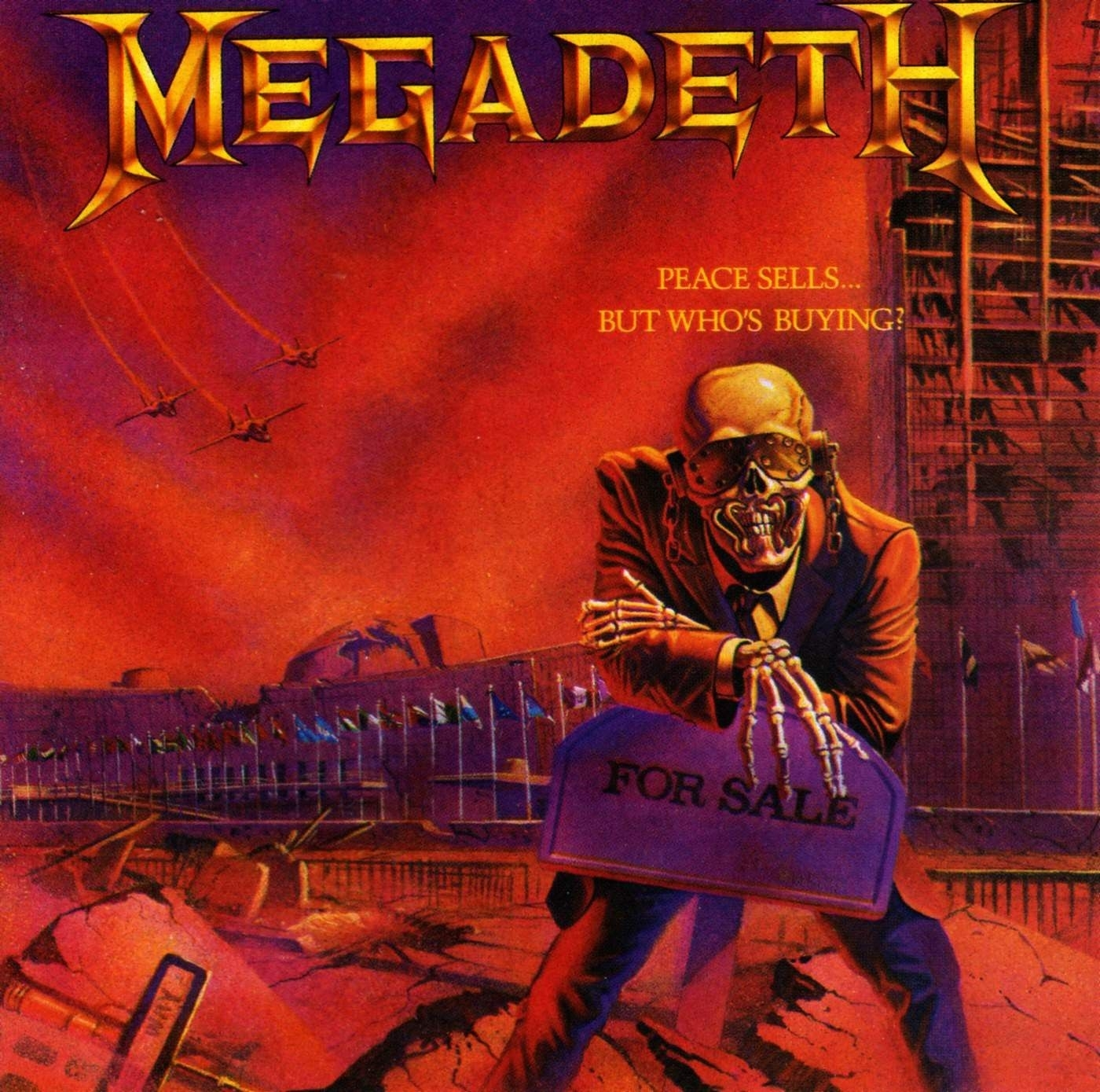megadeth - peace sells…but who's buying? | favorite album covers