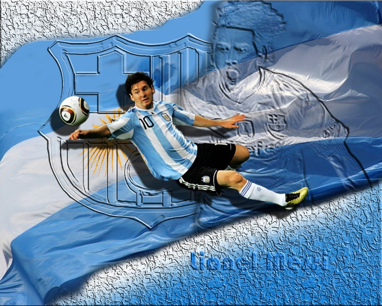 messi argentina flag background wallpaper 1280×1024 - lionel messi