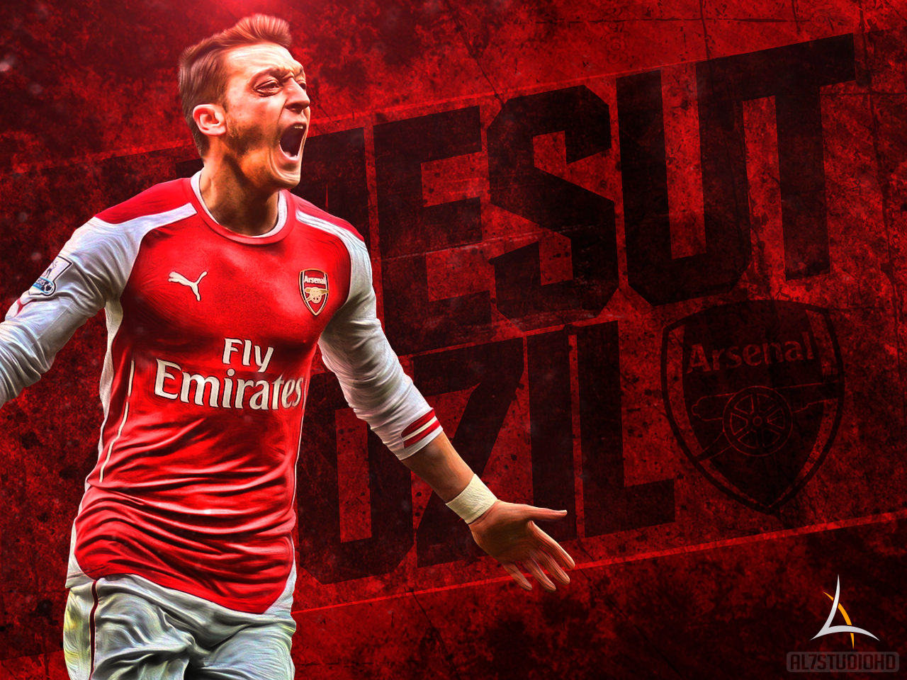 mesut ozil wallpapers and background images - stmed