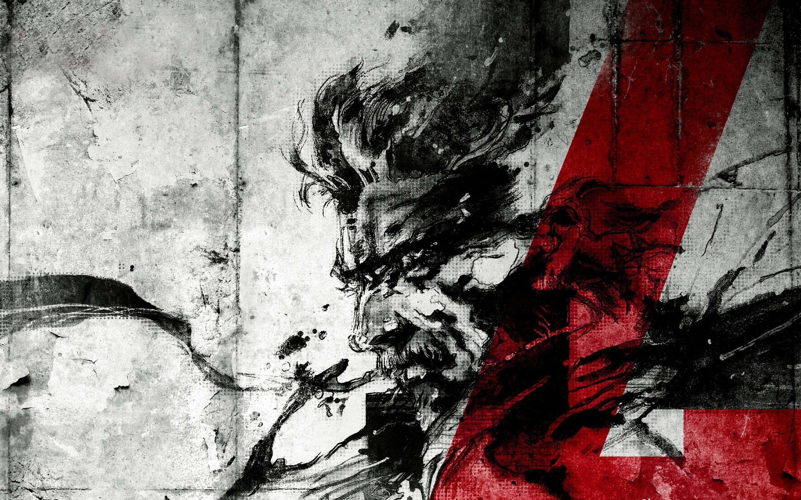metal gear solid 4 guns of the patriots hd desktop wallpaper