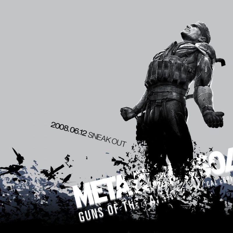 10 New Metal Gear Solid Desktop Wallpaper FULL HD 1080p For PC Background 2018 free download metal gear solid 4 hd wallpaper 1920x1080 id4813 800x800