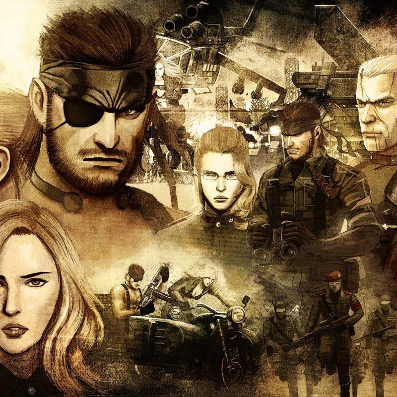 10 New Metal Gear Solid Desktop Wallpaper FULL HD 1080p For PC Background 2018 free download metal gear solid poster full hd wallpaper and background image 800x800