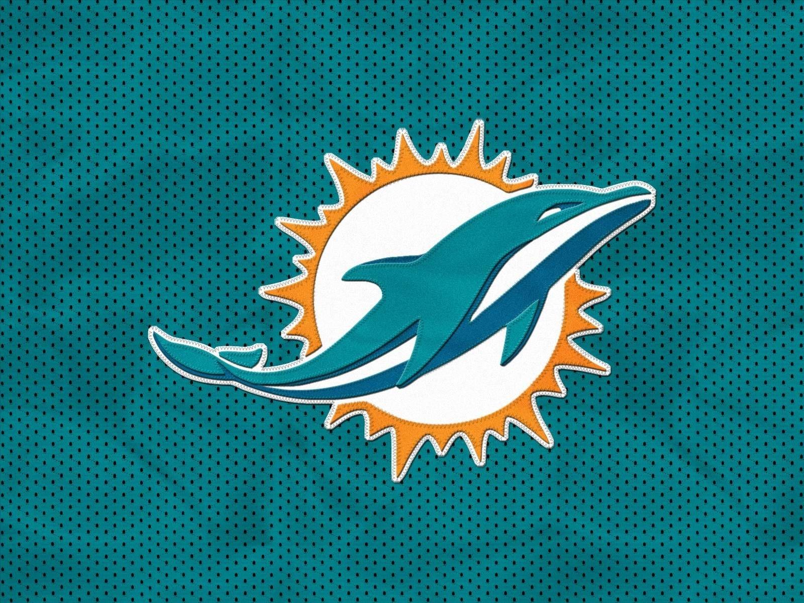 miami dolphins logo desktop wallpaper | miami dolphins new logo