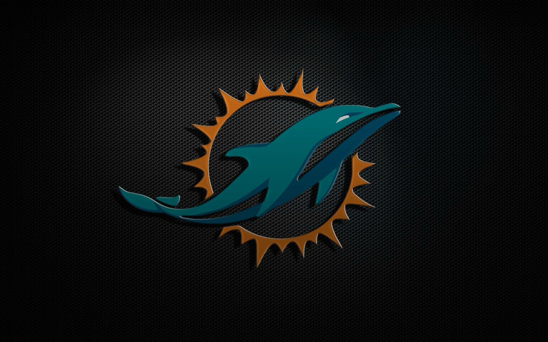 miami-dolphins-logo-wallpaper - wallpaper.wiki