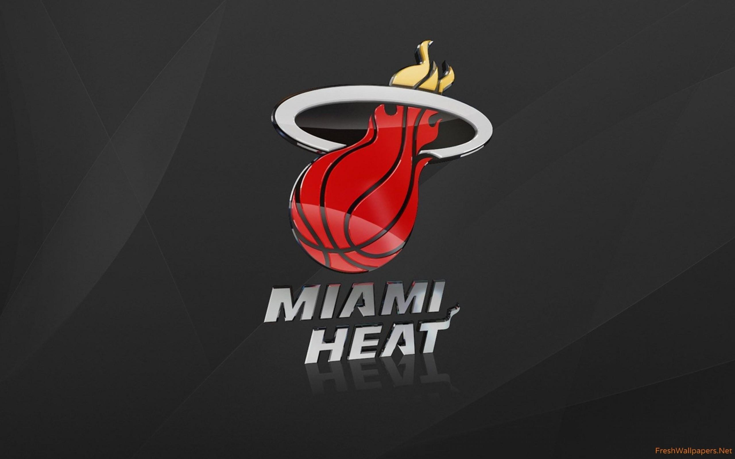 miami heat logo wallpapers   freshwallpapers