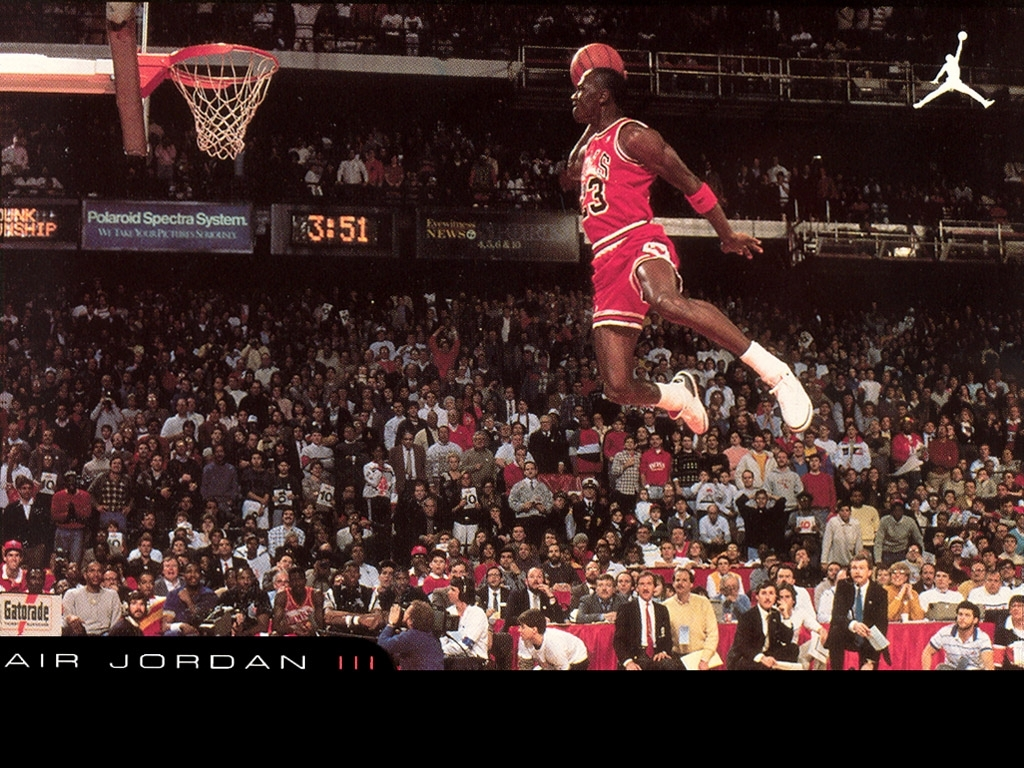 michael jordan dunk wallpaper photo ~ desktop wallpaper box