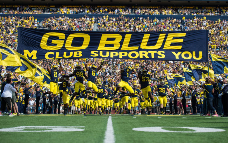 10 Best University Of Michigan Football Wallpapers FULL HD 1920×1080 For PC Background 2021 free download michigan football wallpaper sf wallpaper 800x505