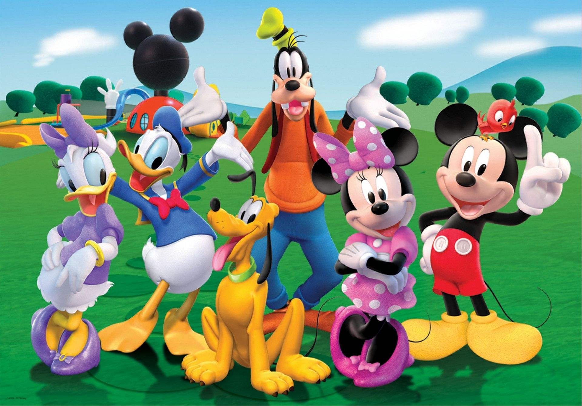 mickey mouse clubhouse wallpapers | images wallpapers | pinterest