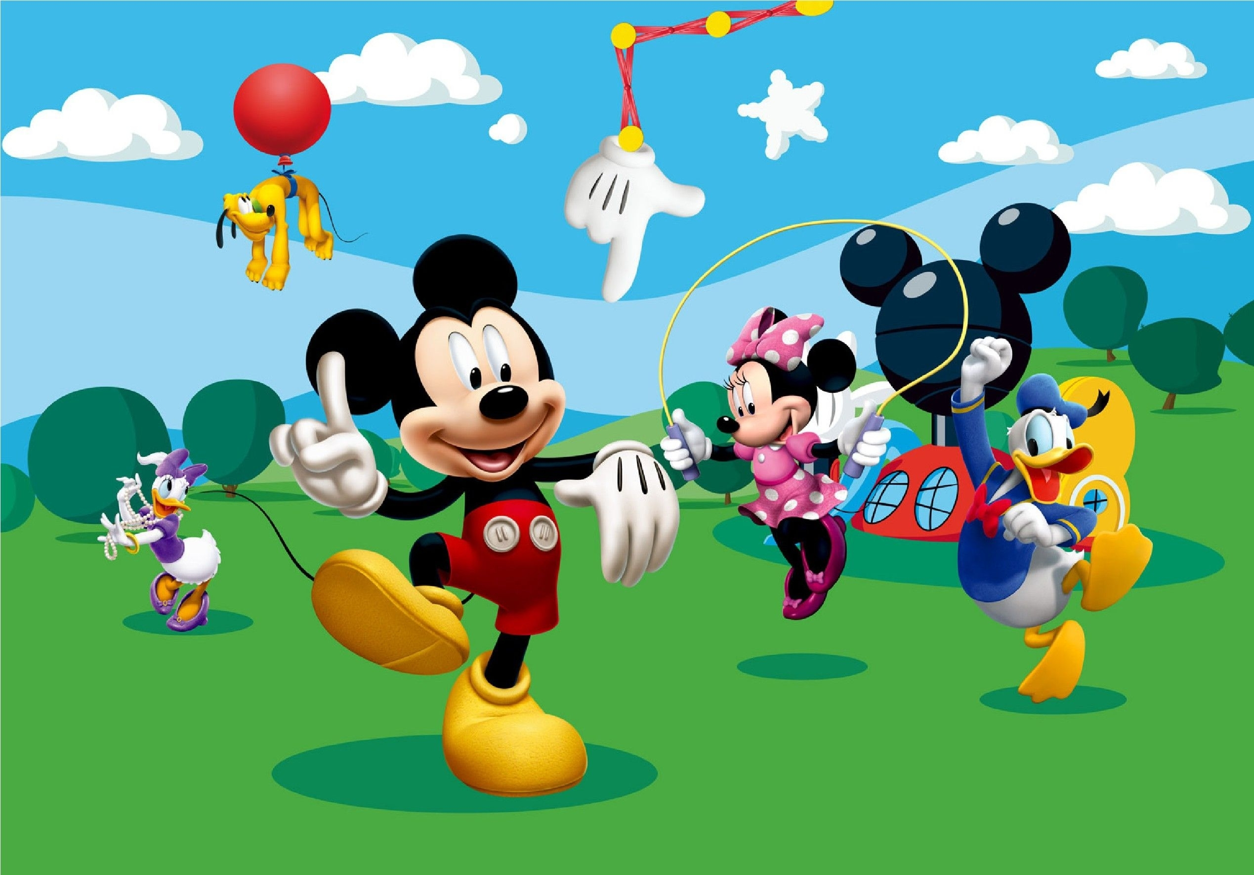 mickey mouse clubhouse wallpapers | wabc | pinterest | mickey mouse