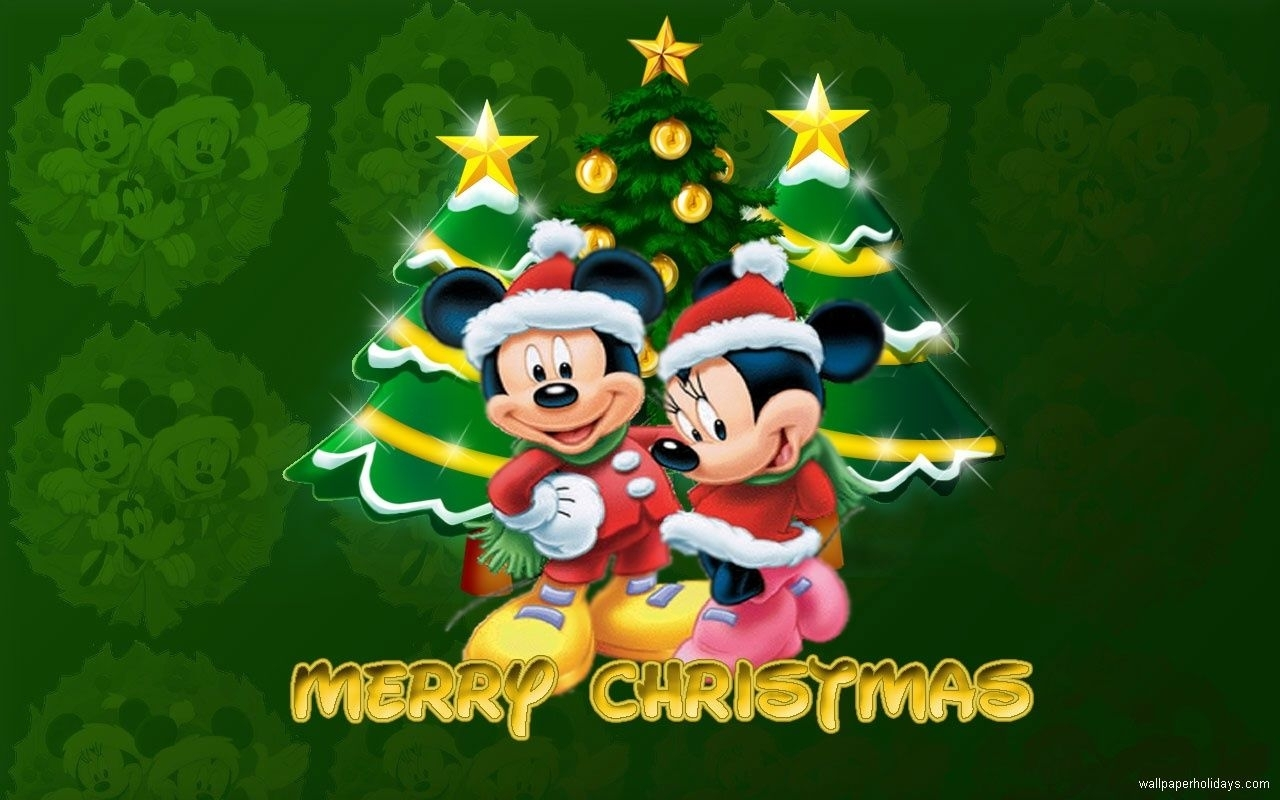mickey mouse merry christmas wallpaper pictures, photos, and images