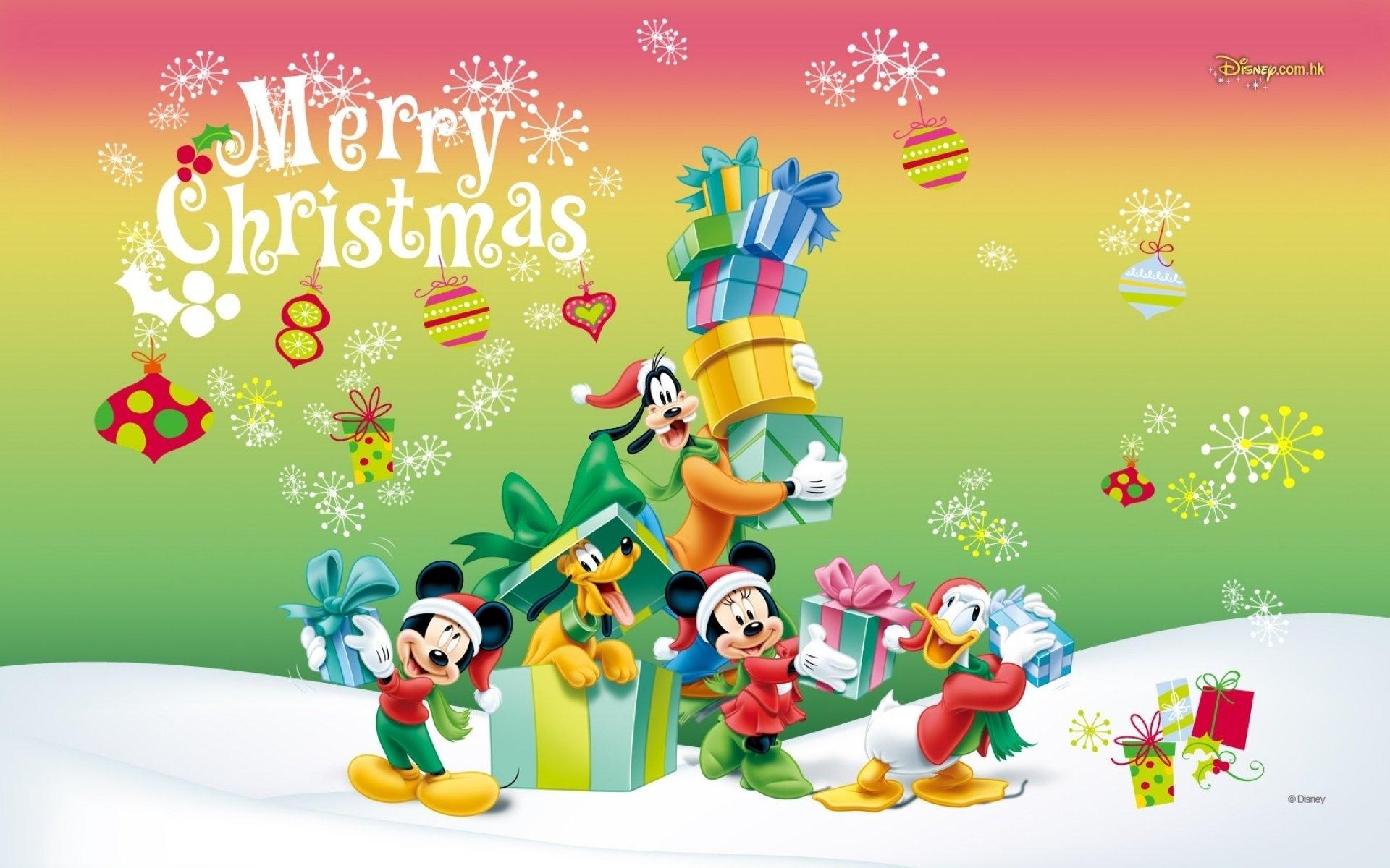 mickey mouse merry christmas wallpaper | wallpaperlepi