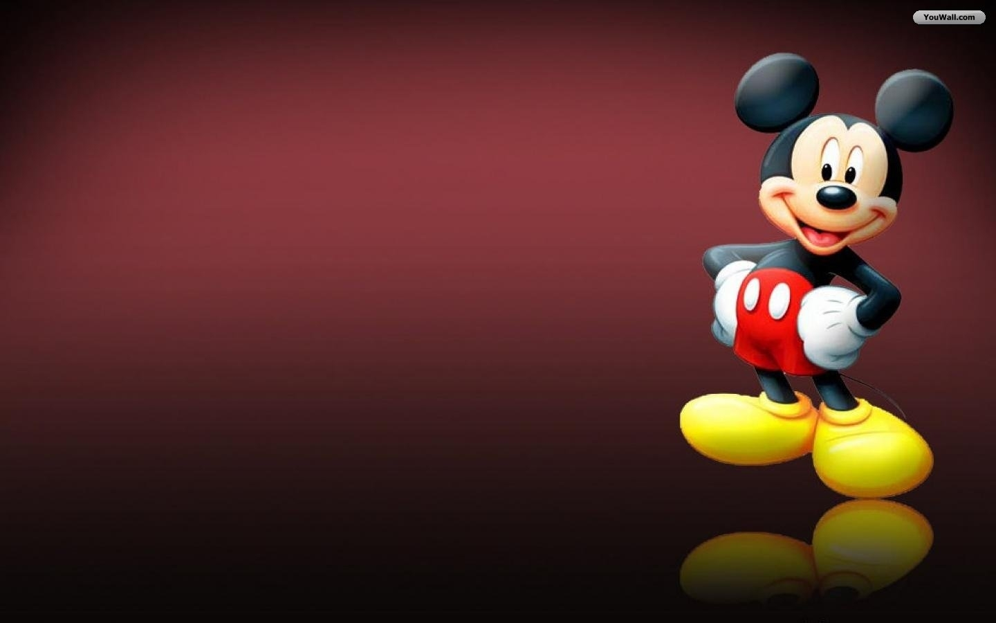 mickey mouse smiling wallpaper - baltana