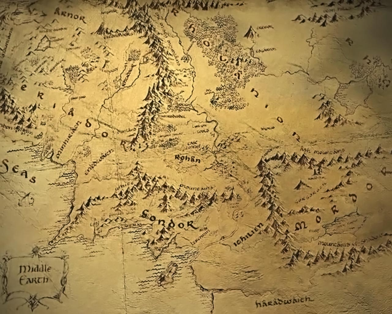 middle earth map - google search | 3rd year film enviroment