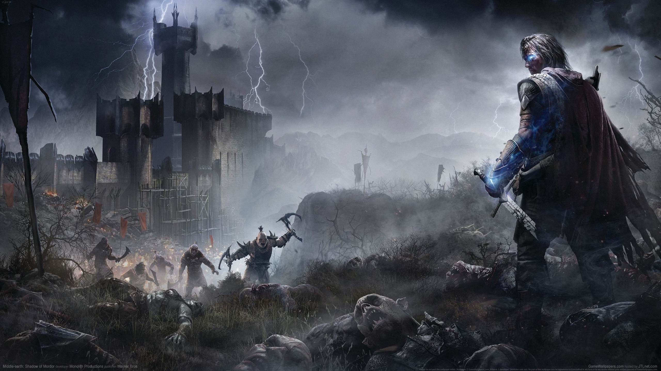 middle-earth: shadow of mordor full hd wallpaper and background