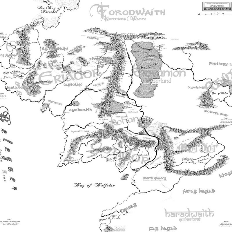 10 Top Map Of Middle Earth High Resolution FULL HD 1920×1080