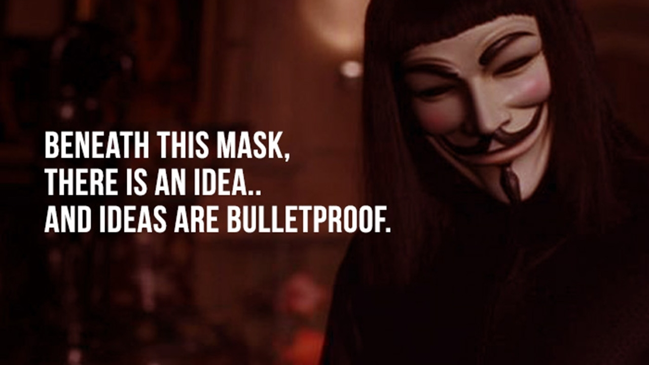 mind blowing quotes from v for vendetta to trigger your thoughts