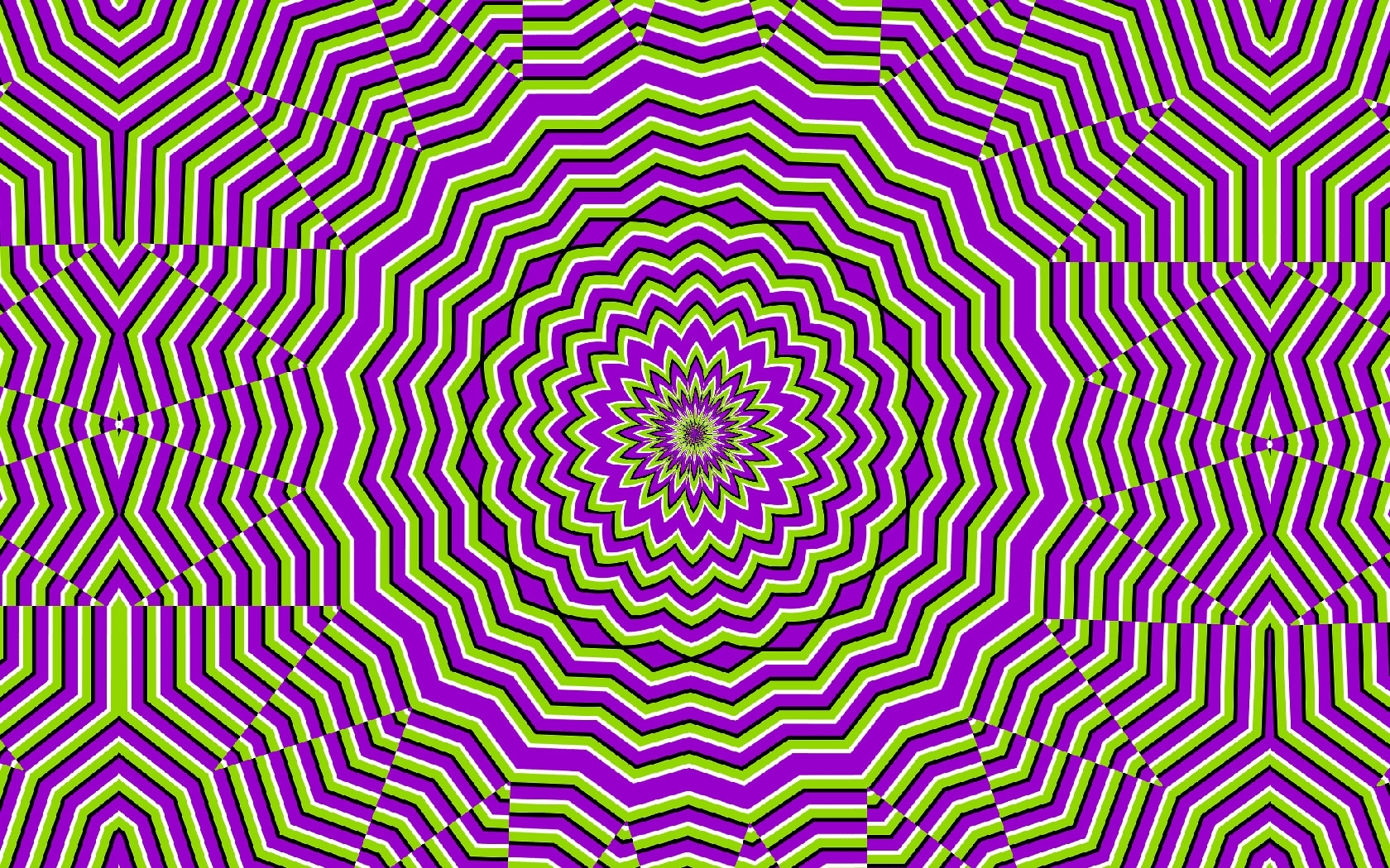 mind teaser teasers moving optical illusion purple | alternate