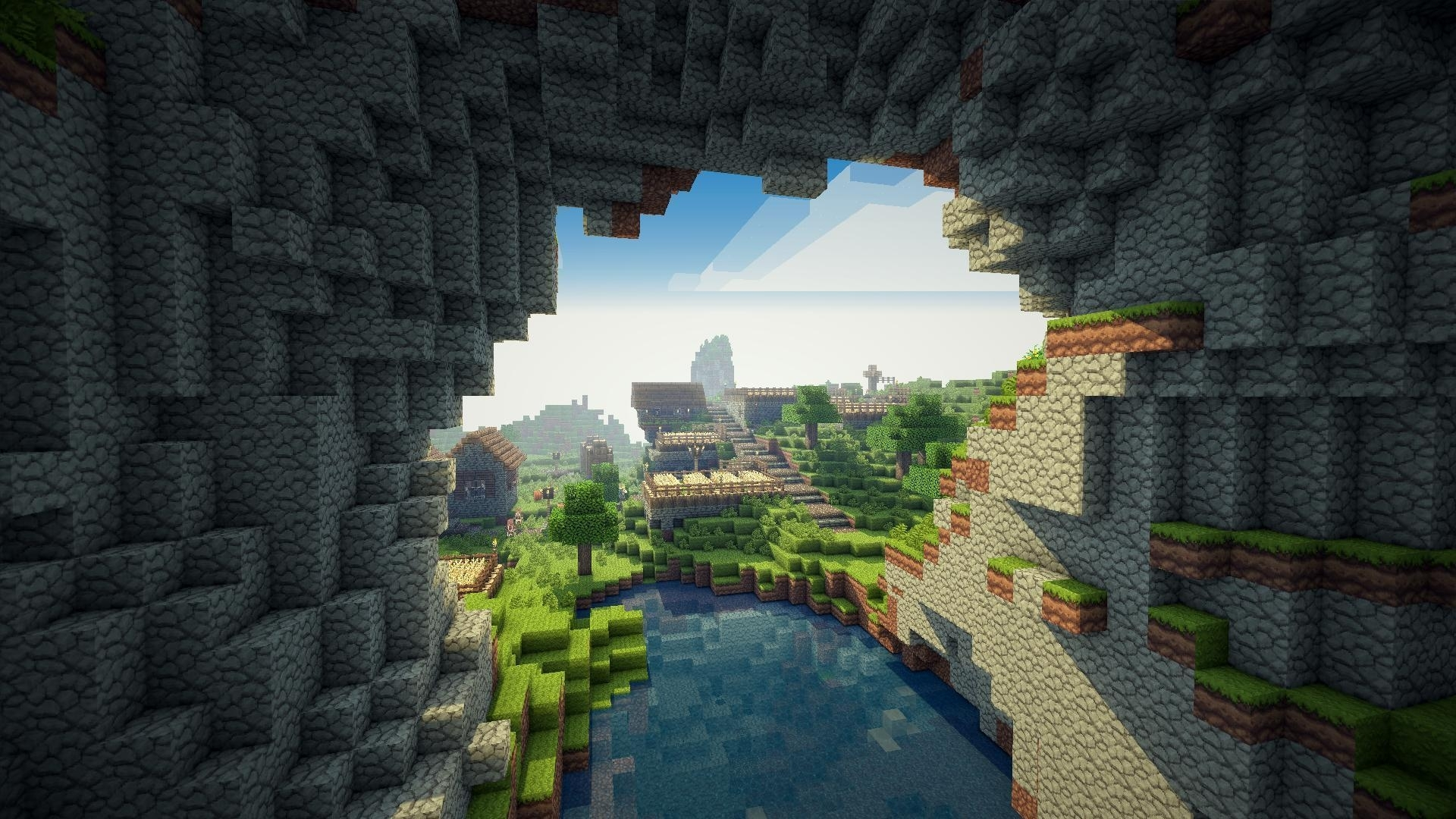 10 Most Popular Hd Minecraft Wallpaper 1920X1080 FULL HD 1920×1080 For PC Background ...