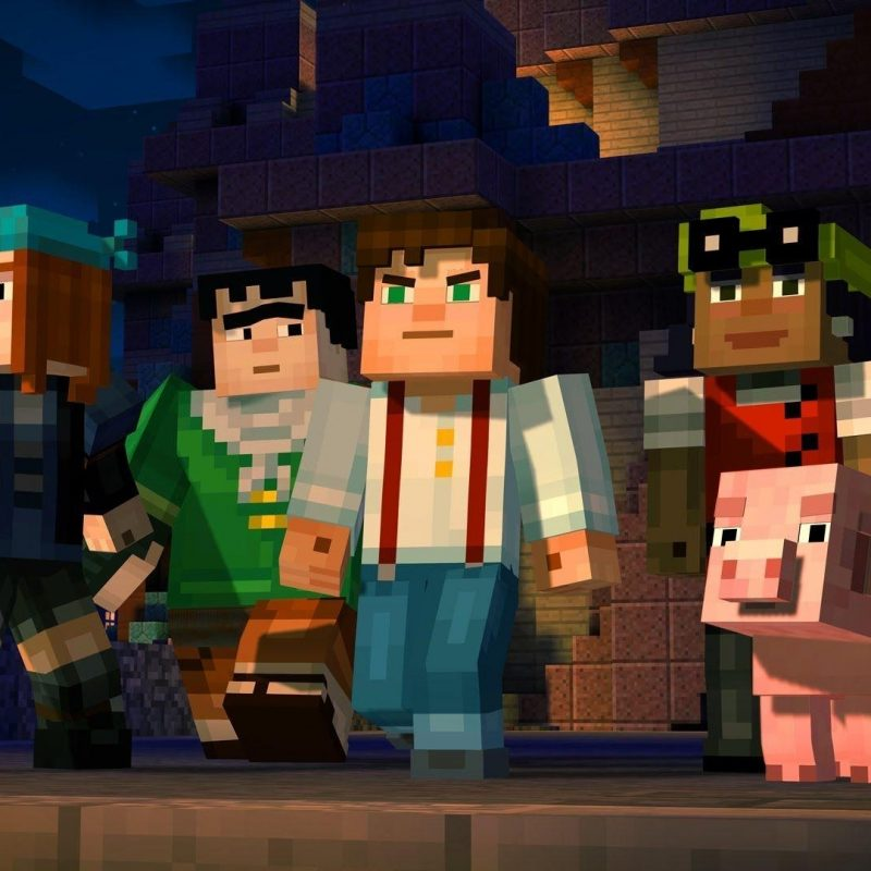 10 Most Popular Minecraft Story Mode Wallpapers FULL HD 1080p For PC Background 2018 free download minecraft story mode wallpapers wallpaper cave 800x800