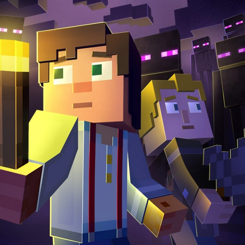 10 Most Popular Minecraft Story Mode Wallpapers FULL HD 1080p For PC Background 2018 free download minecraft story mode wallpapers wide desktop wallpaper box 800x800