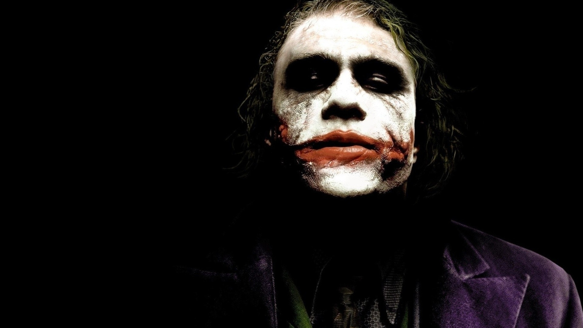minimalistic dc comics the joker heath ledger batman the dark knight
