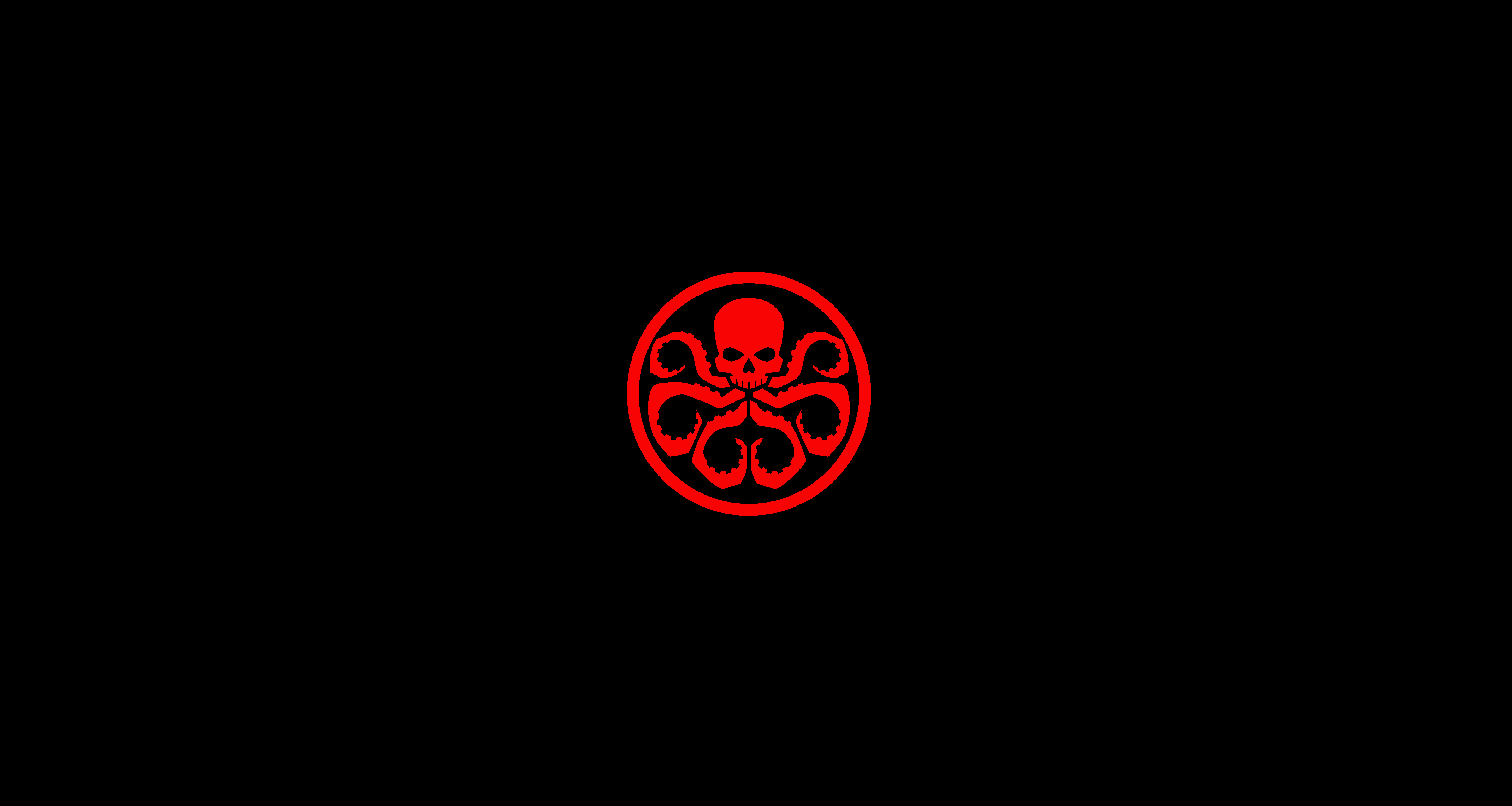 minimalistic hydra (marvel) wallpaper i made after not finding one i