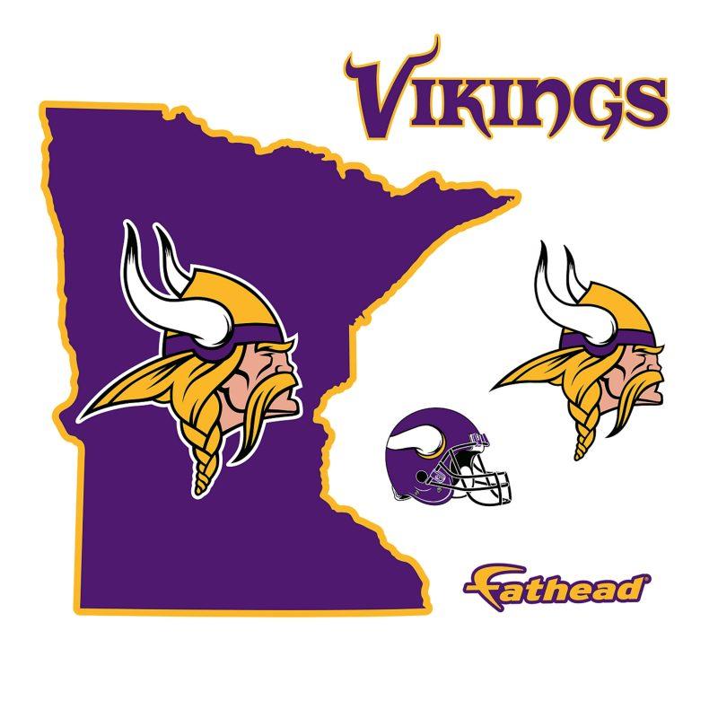 10 Best Minnesota Vikings Pics Logo FULL HD 1920×1080 For PC Desktop 2018 free download minnesota vikings state of minnesota wall decal shop fathead 800x800