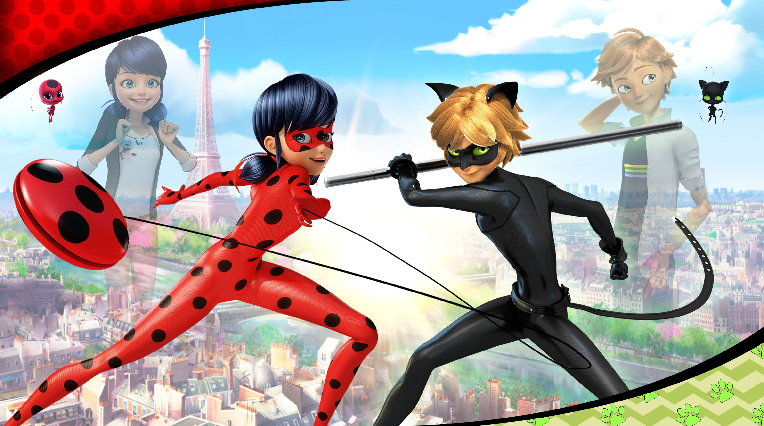 miraculous: tales of ladybug & cat noir wallpapers and background