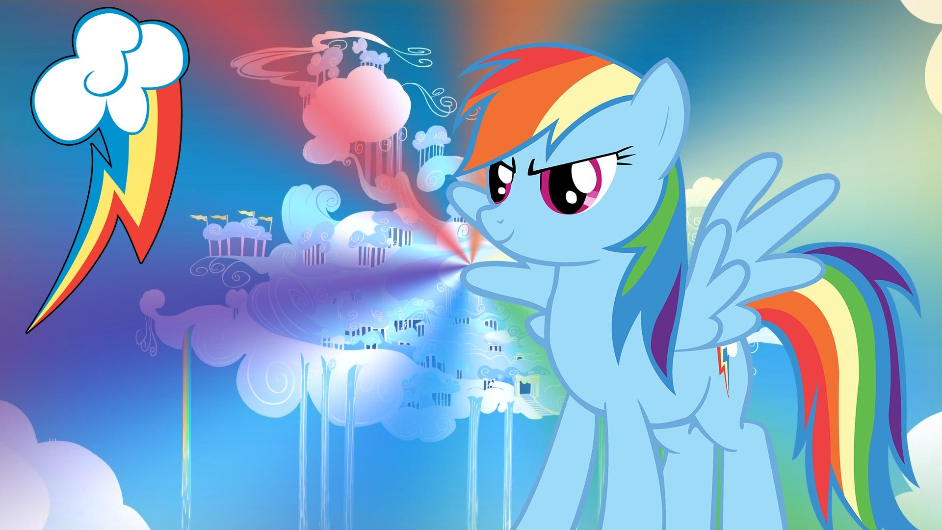 mlp rainbow dash wallpaper | rainbow dash - my little pony wallpaper