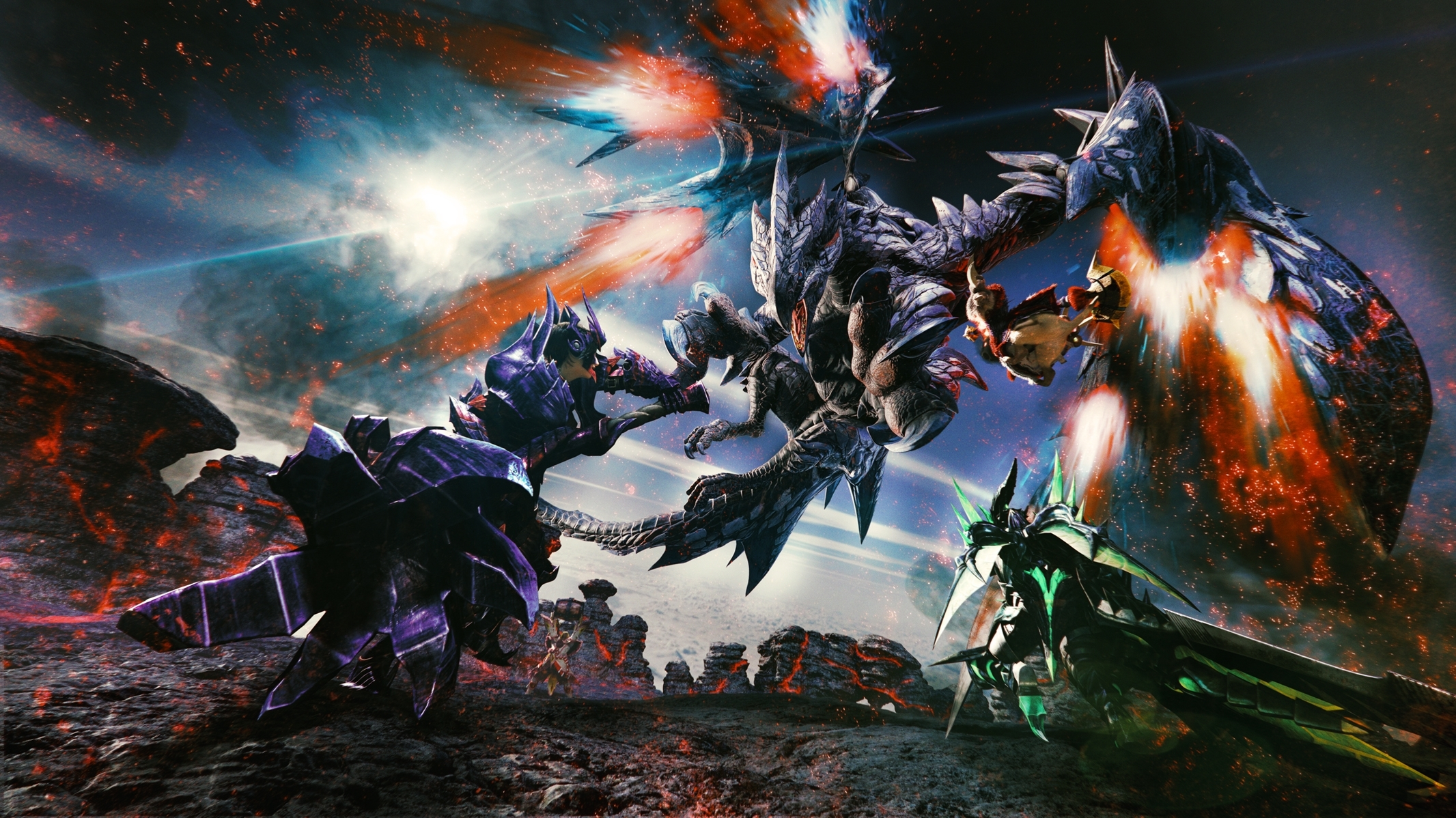 monster hunter double cross - cg-art wallpaper (2132 x 1198) - imgur