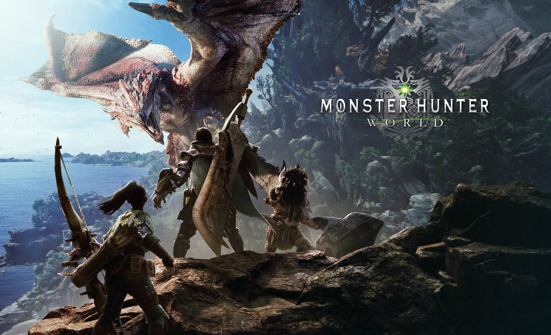 monster hunter world hd wallpaper : monsterhunter