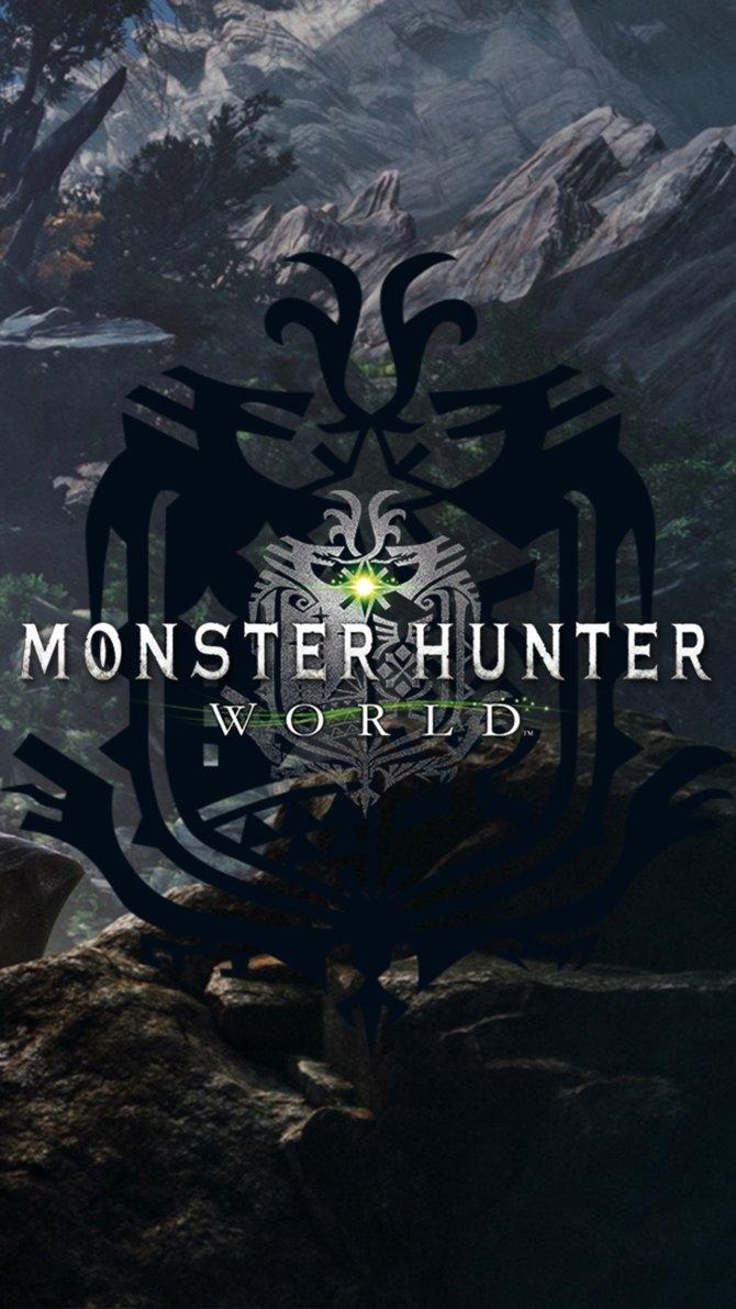 monster hunter world wallpaper mobilehokage455 on deviantart
