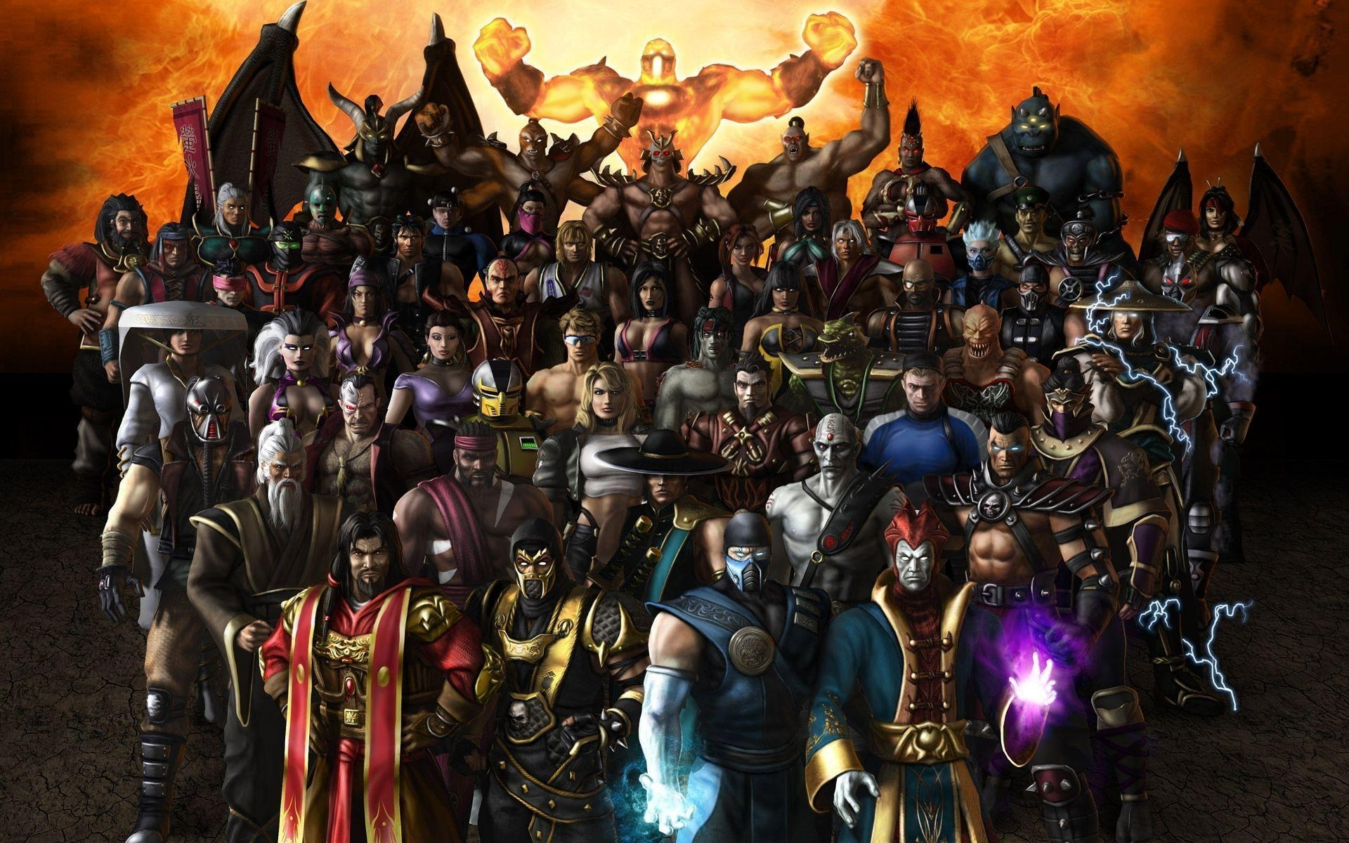 mortal kombat characters wallpapers - wallpaper cave
