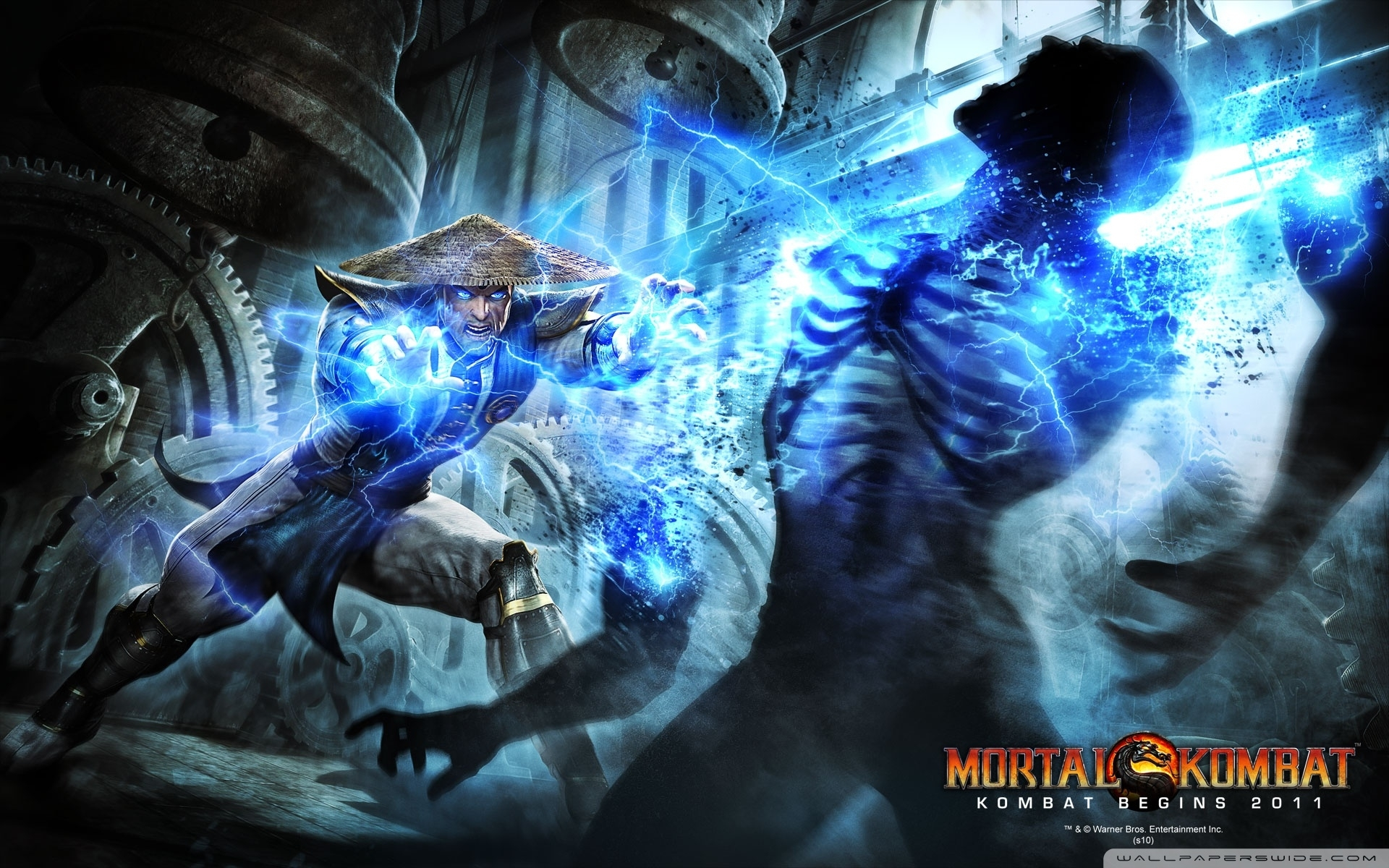 mortal kombat raiden ❤ 4k hd desktop wallpaper for 4k ultra hd tv