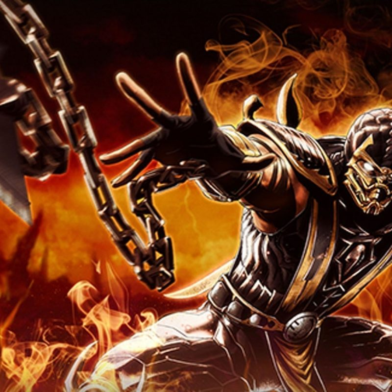 10 Best Scorpion Mortal Kombat Wallpapers FULL HD 1080p For PC Desktop 2018 Free Download