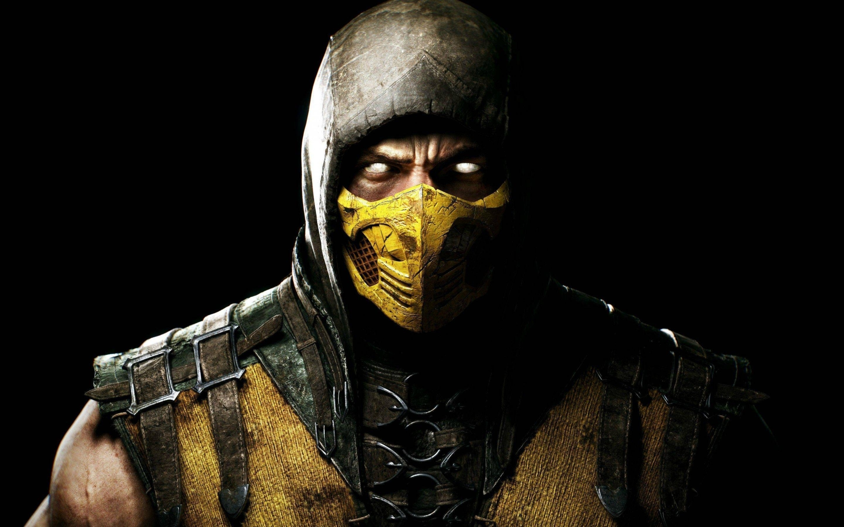 mortal kombat wallpapers scorpion - wallpaper cave