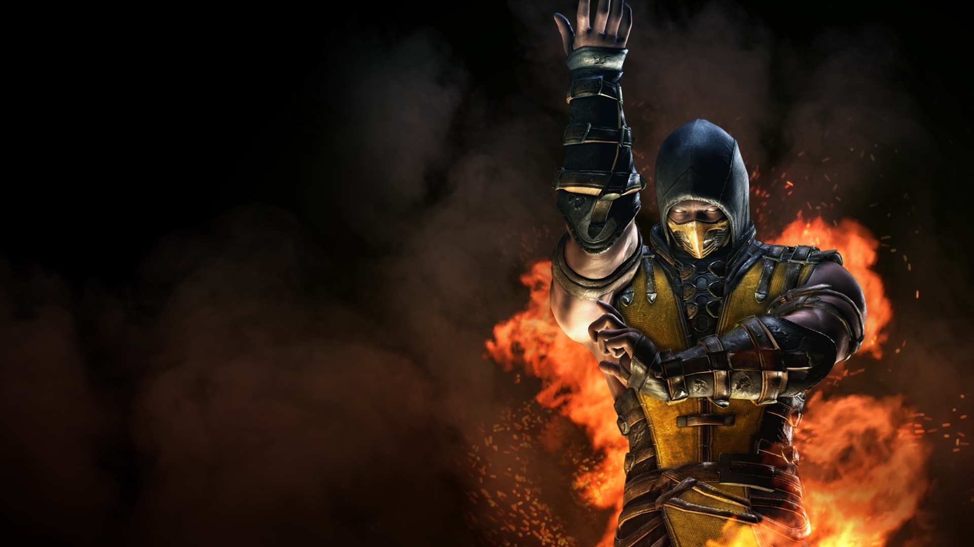 mortal kombat x inferno scorpion wallpapers | hd wallpapers | id #17989