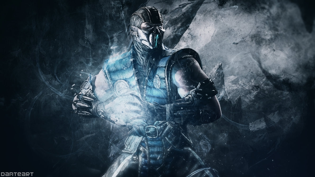 mortal kombat x sub zero wallpaperdanteartwallpapers on deviantart