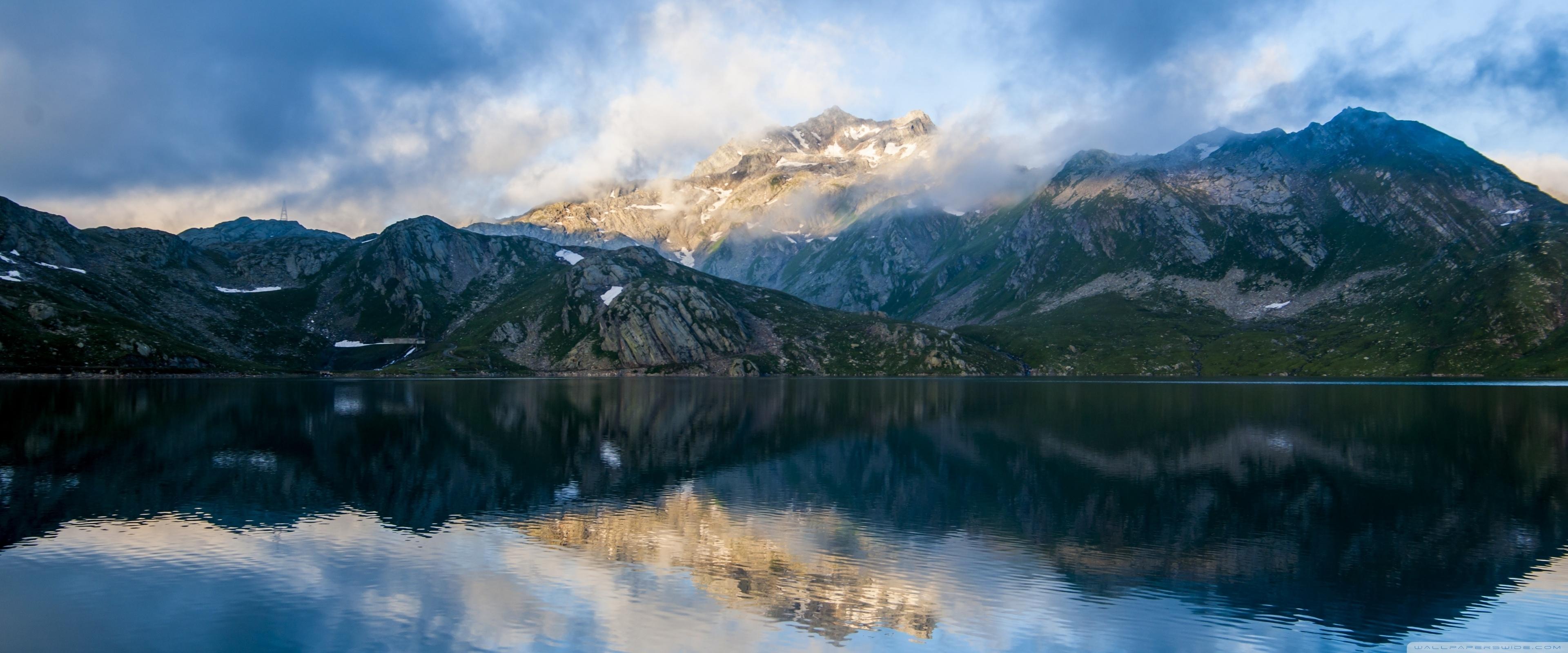mountain lake ❤ 4k hd desktop wallpaper for 4k ultra hd tv • wide