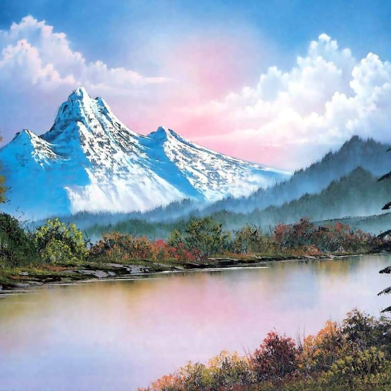 10 Most Popular Bob Ross Painting Wallpaper FULL HD 1080p For PC Desktop 2018 free download mountain rangebob ross history analysis facts 800x800