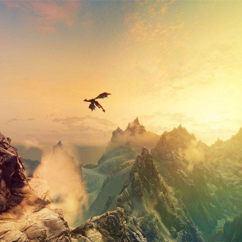 10 Top Skyrim Landscape Wallpaper Dragon FULL HD 1920×1080 For PC Desktop 2018 free download mountains dragons fantasy art the elder scrolls v skyrim wallpaper 800x800