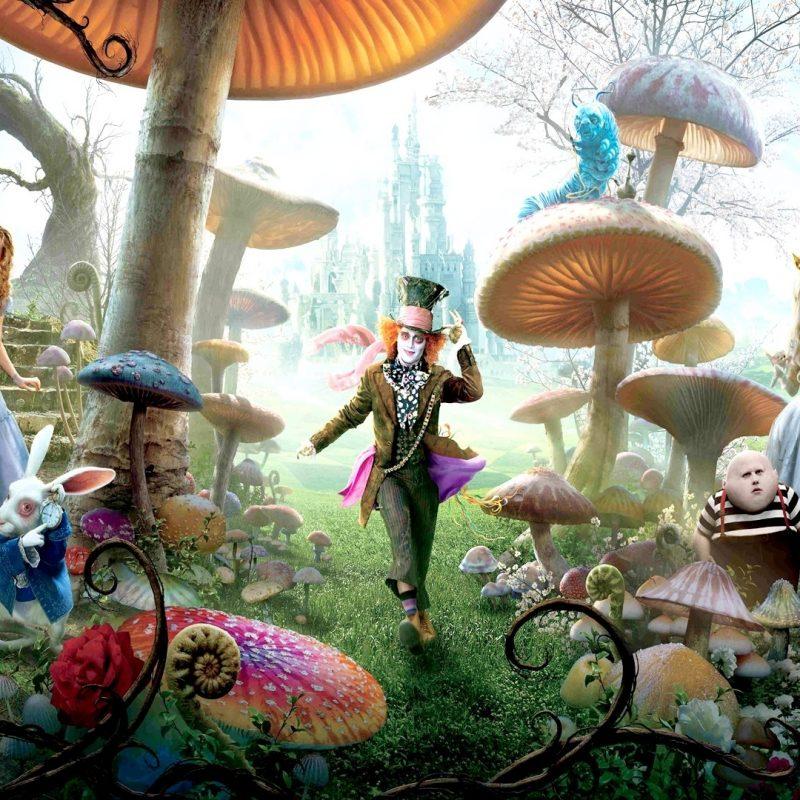 10 Top Alice In Wonderland Wallpaper FULL HD 1920×1080 For PC Background 2021 free download movies alice in wonderland hd wallpapers desktop phone tablet 800x800