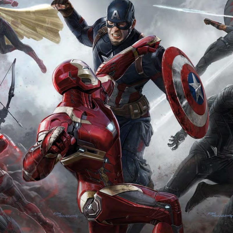 10 Top Captain America Civil War Wallpaper Comic FULL HD 1080p For