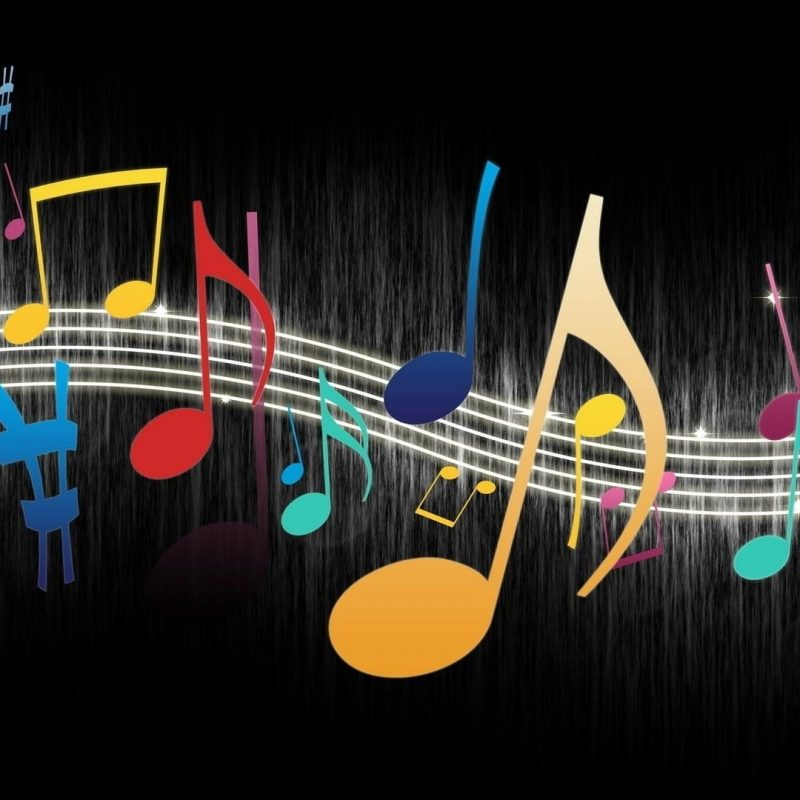 10 Top Music Note Wallpaper Hd FULL HD 1080p For PC Desktop 2018 free download multicolor musical notes wallpaper 100228 800x800