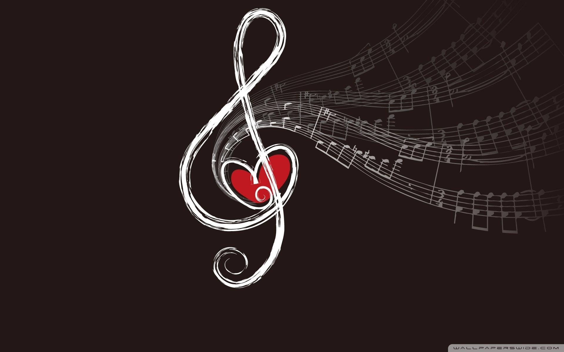 musical notes ❤ 4k hd desktop wallpaper for 4k ultra hd tv • wide