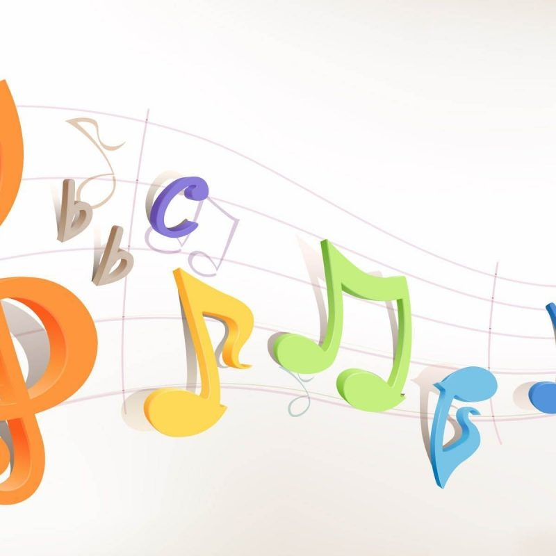 10 Most Popular 3d Colorful Music Notes Wallpaper Full Hd 1080p For