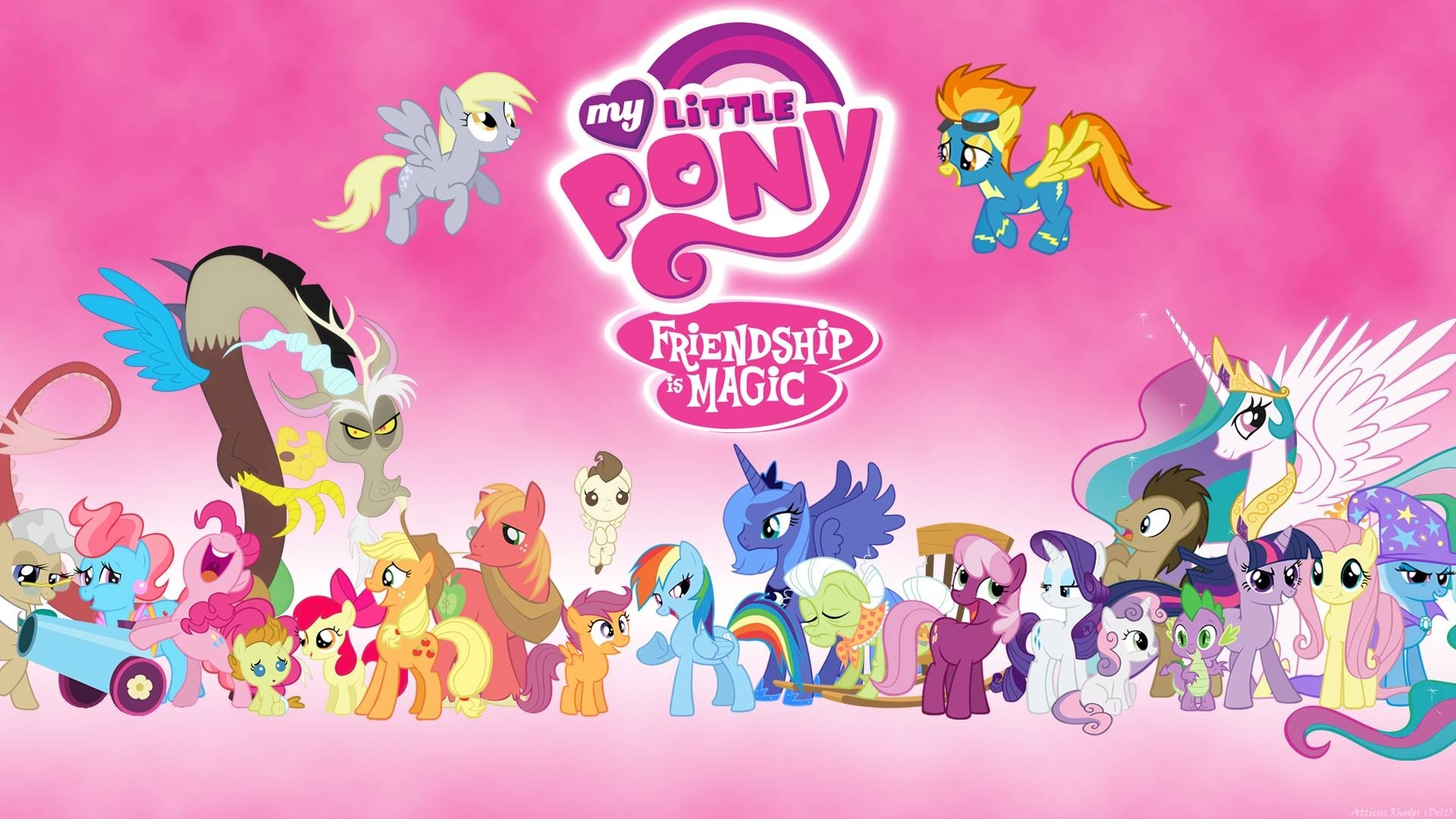 my little pony wallpaper - bdfjade