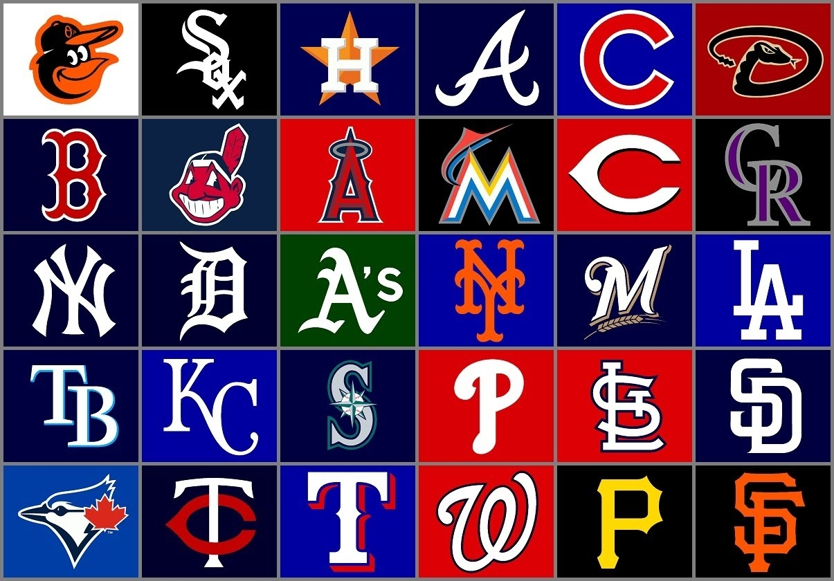 my rankings of all 30 mlb teams logos - youtube